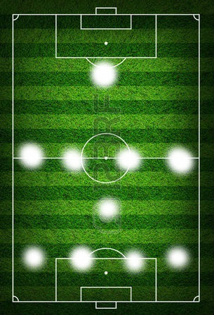 Футбольна схема 4-1-4-1
