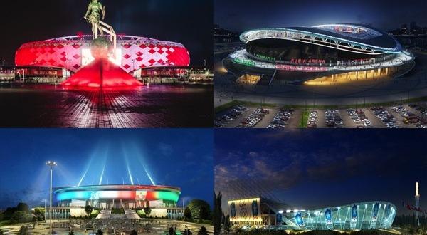 Кубка 2017 стадионы конфедераций