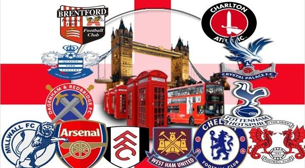 Футбольные клубы англии перечень названий