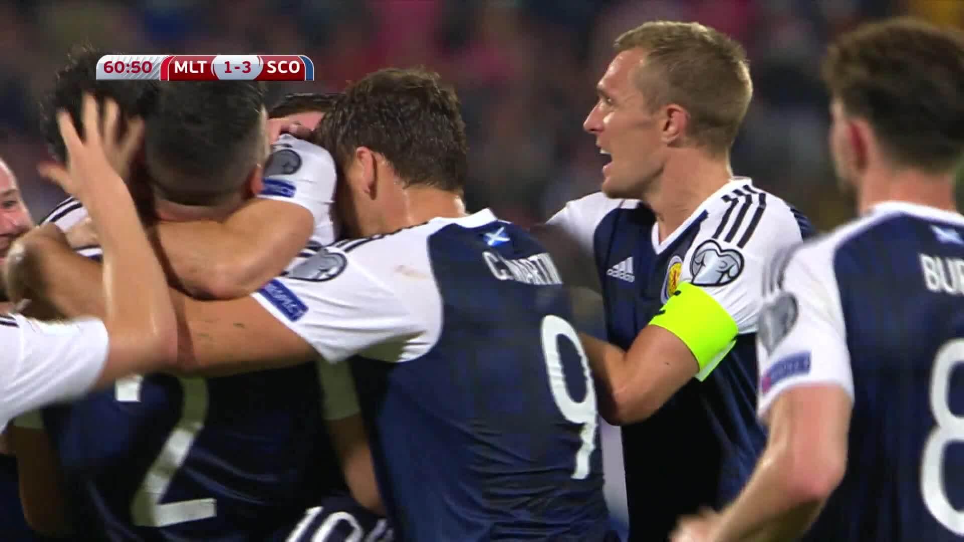 Сборная Словакии разгромила команду Мальты изаняла 2-ое место вгруппе F