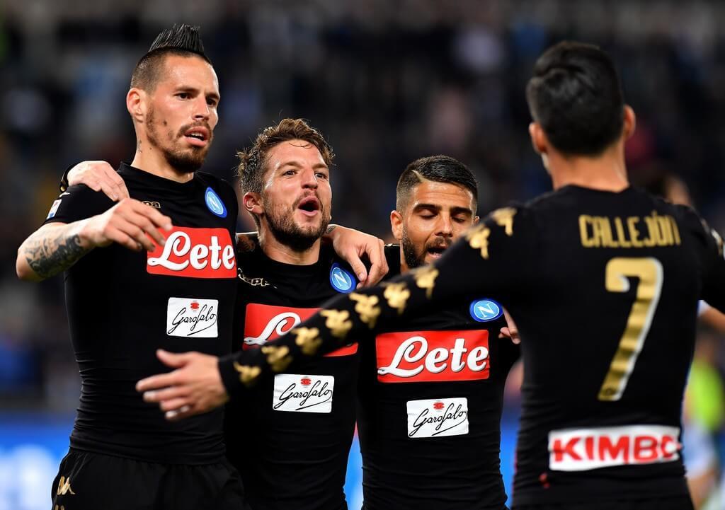 «Наполи»— «Лацио»: букмекеры назвали фаворита центрального матча тура Серии А