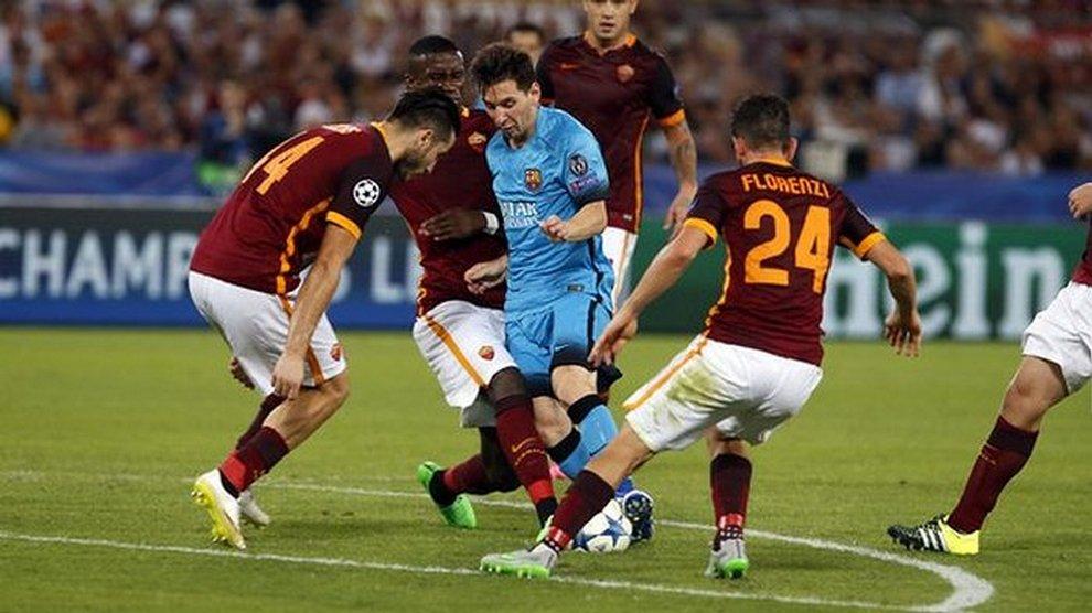 Превью матча 1/4 финала Лиги чемпионов Барселона - Рома