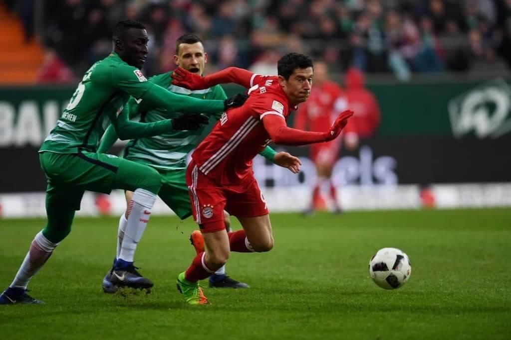 Футбол Вердер - Бавария 16.06.2020 смотреть онлайн